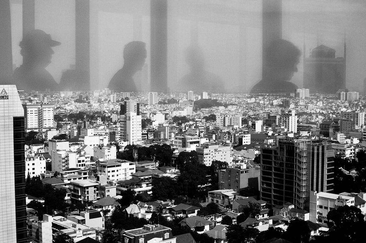 Uitkijk over stad