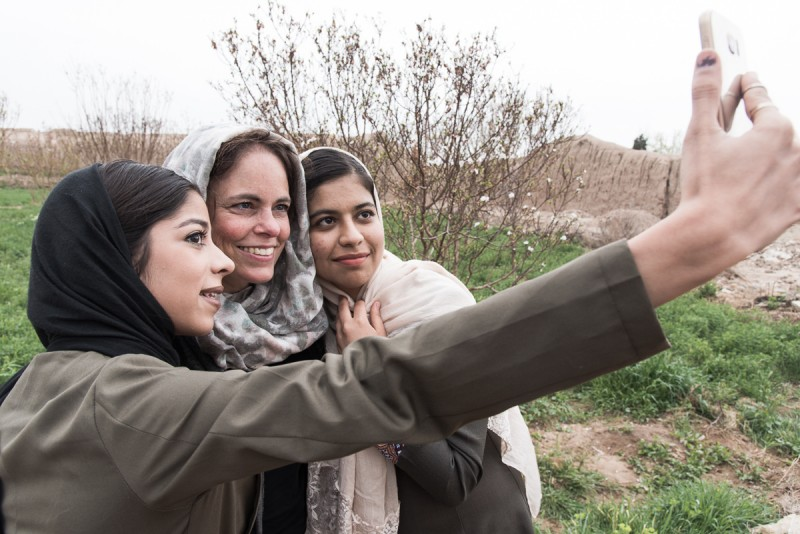 Portret in Iran