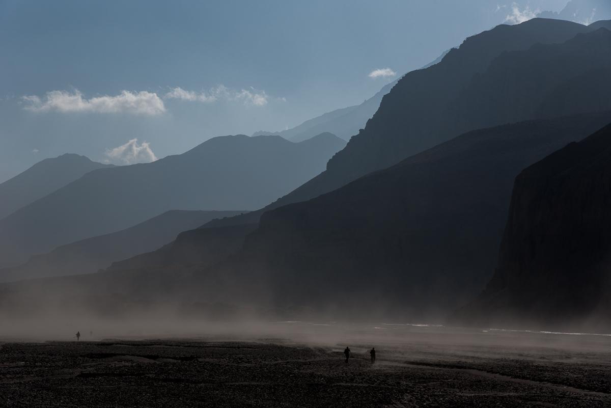Onderweg naar Chele in de Himalaya in Nepal