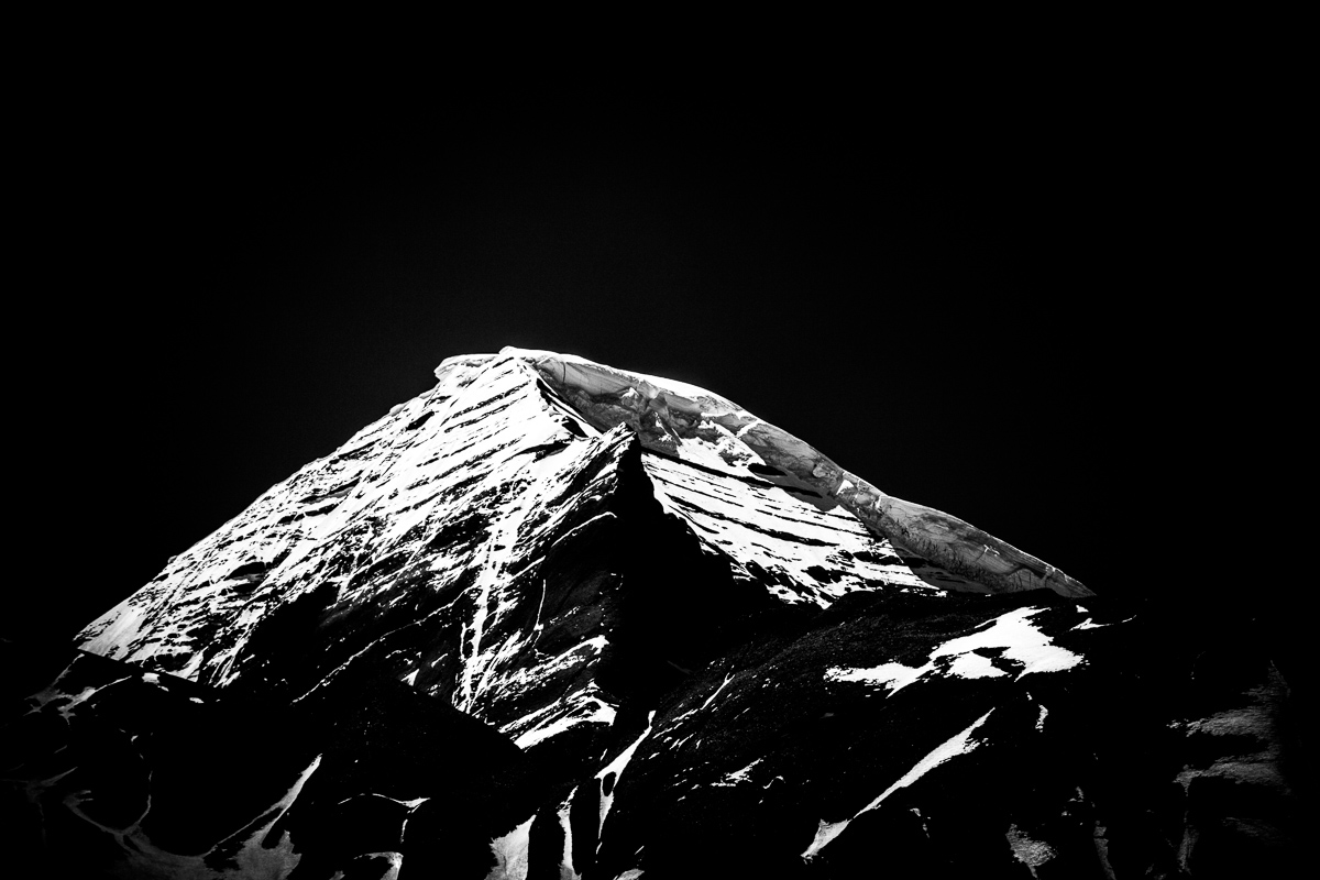 De heilige berg Mount Kailash in Tibet