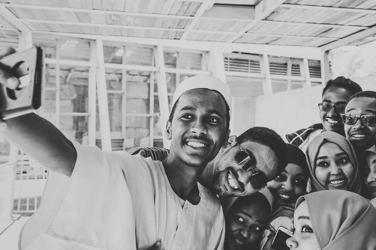 Selfie in Khartoum