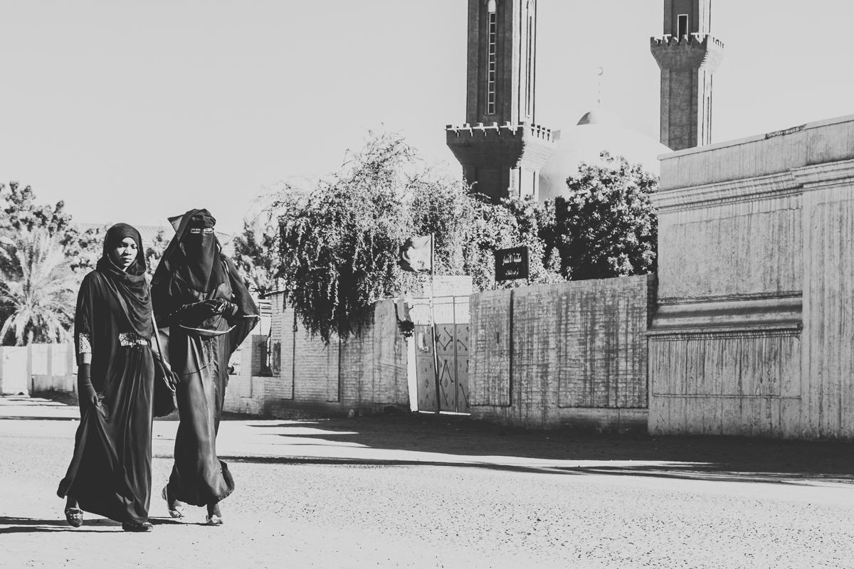 Straatbeeld in Soedan
