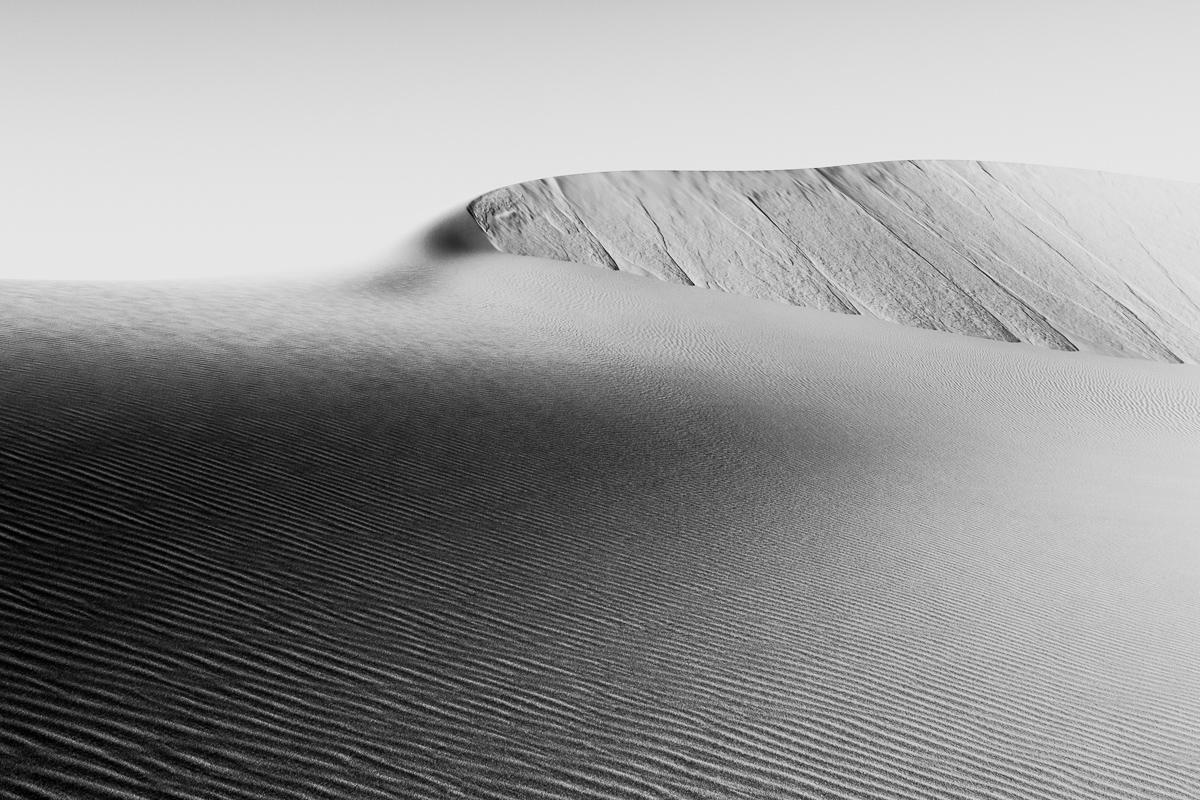 Zandduin in de woestijn