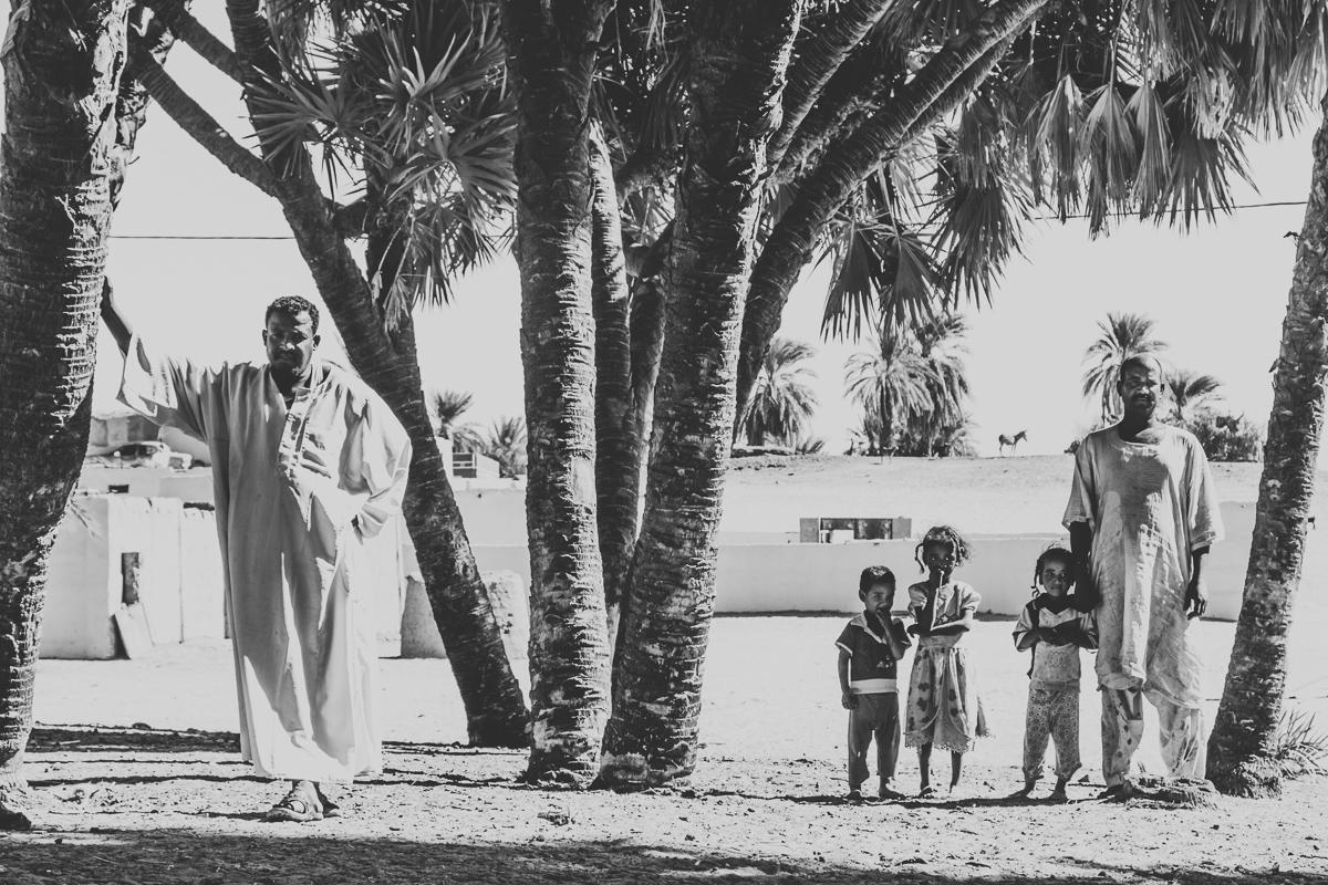 In een Nubisch dorp