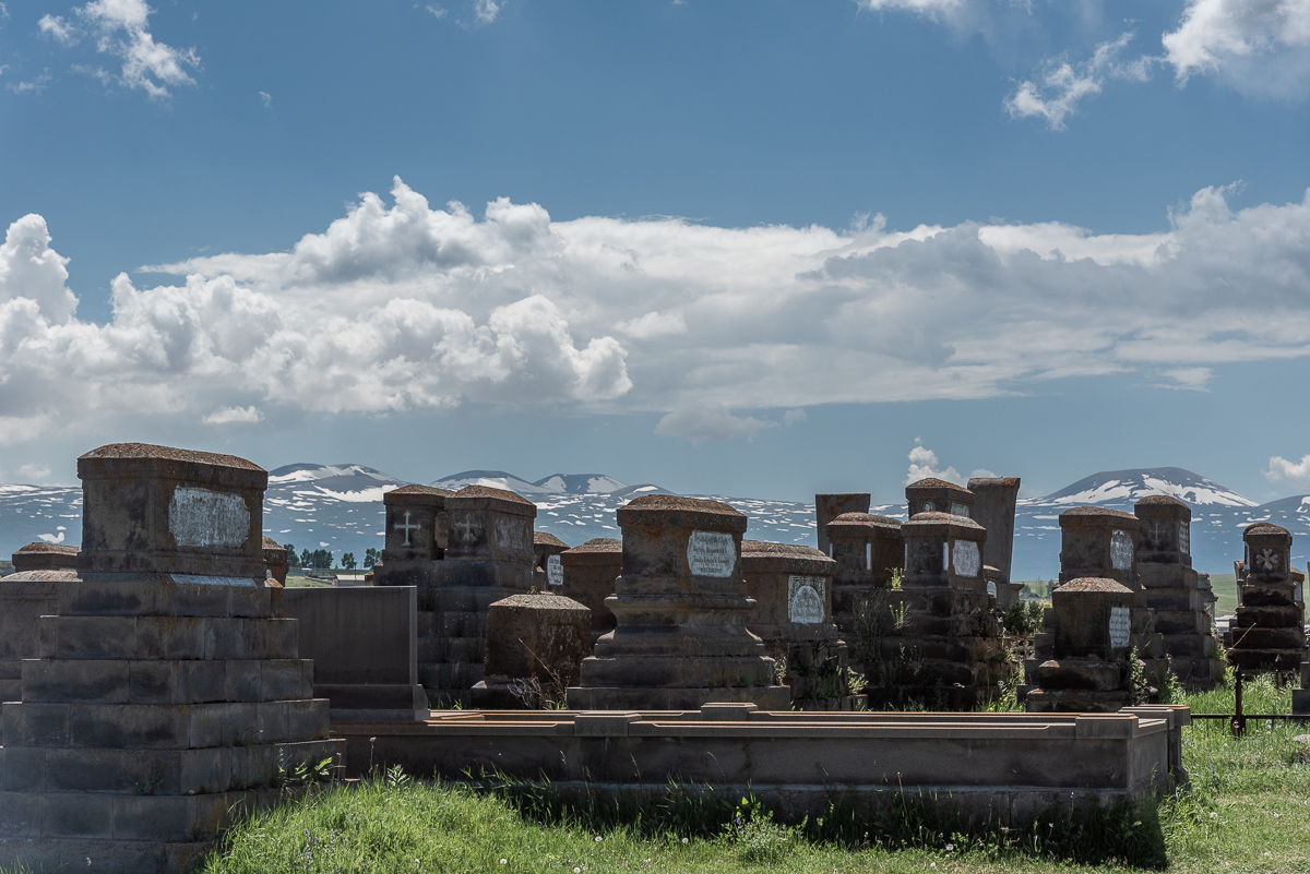 De begraafplaats van Noratus