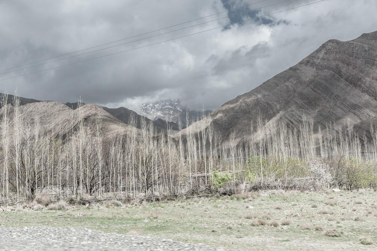 Grililige bergen in de buurt van Kerman