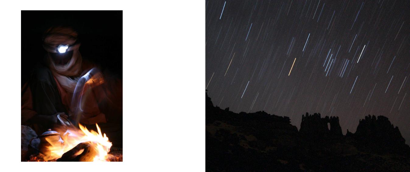 Vallende sterren in Algerije