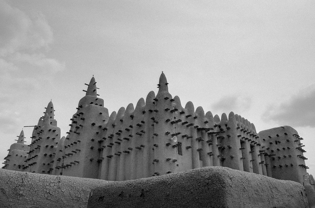 Moskee in Djenné, Mali