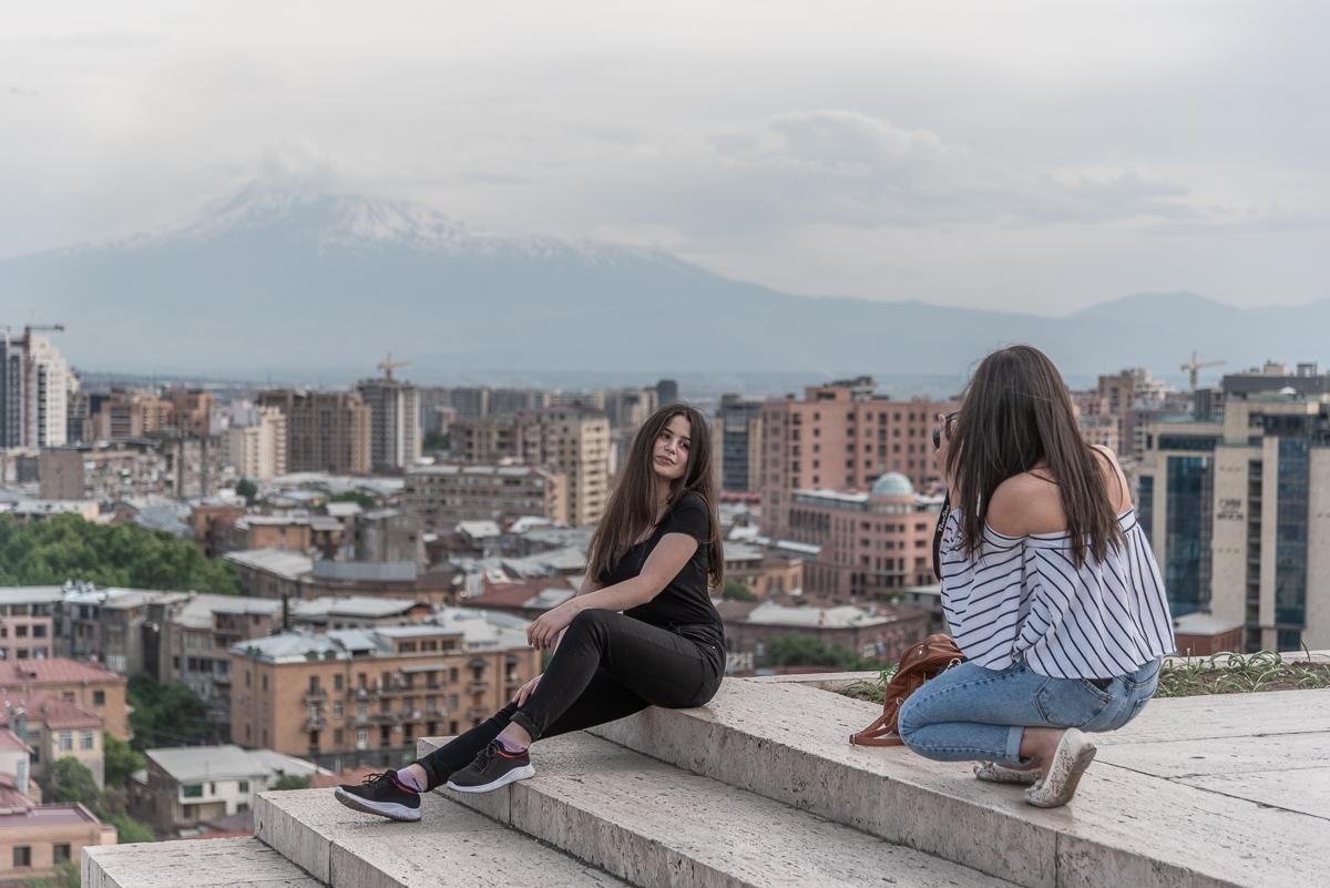Reizen door Armenië