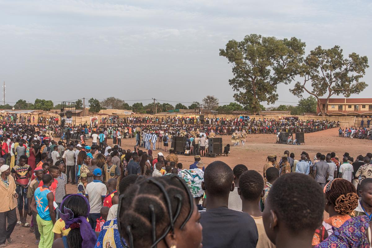 Festima festival in Dédougou Burkina Faso