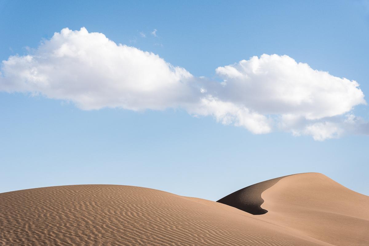 Zandduin in Dasht-e Kavir