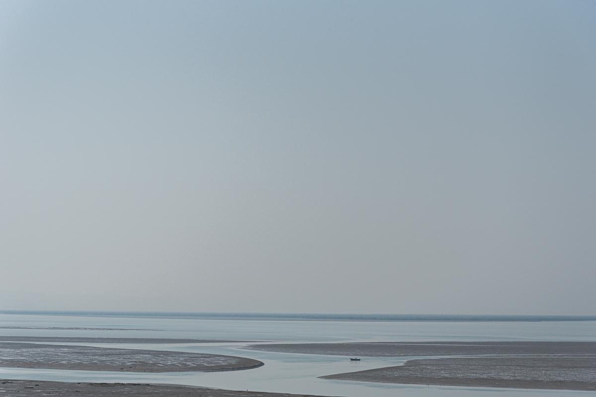 Uitzicht op de Perzische Golf