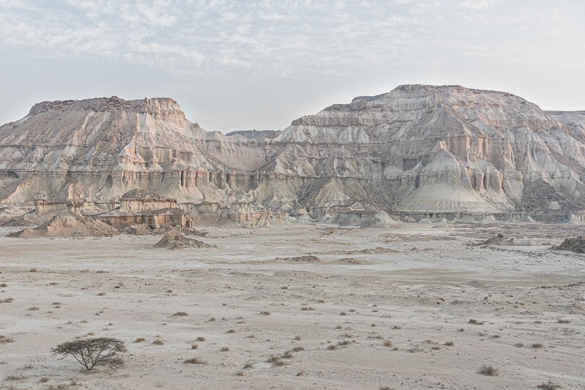 Het landschap van de Valley of Statues