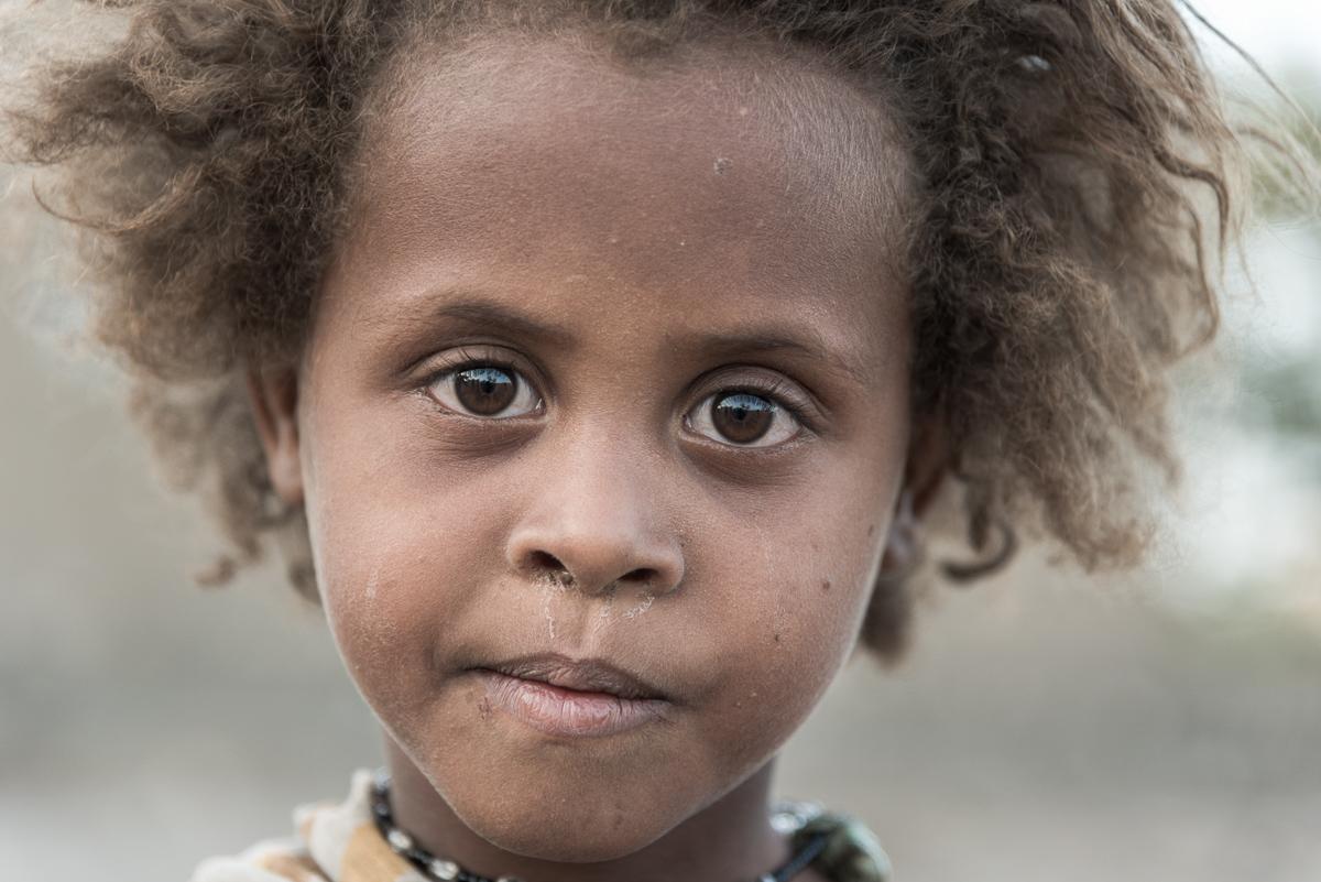 Afar meisje in Ethiopië